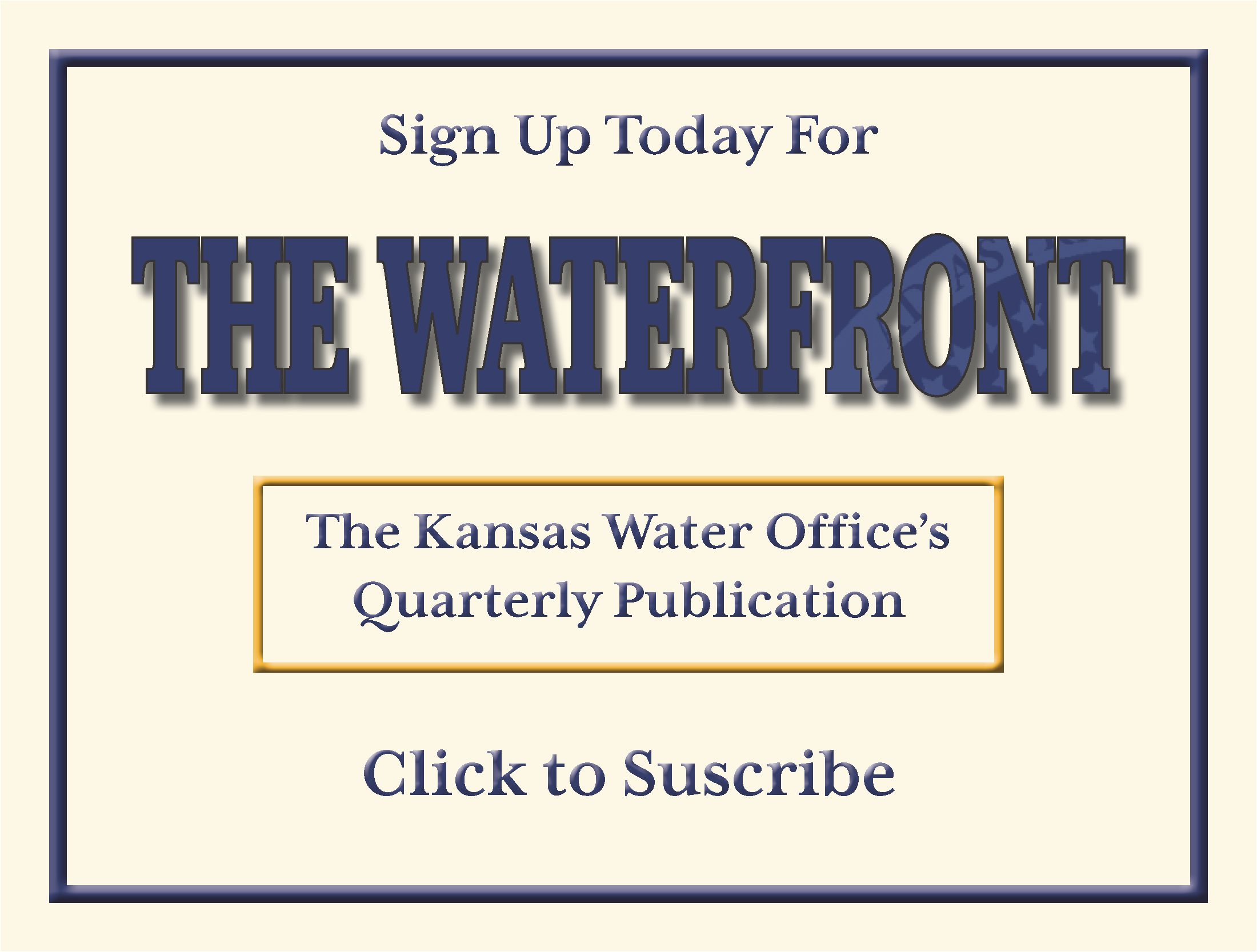 Image link to Subscribe to the Waterfront