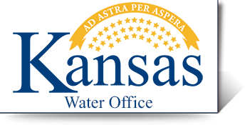 Graphic of the Kansas Water Office Logo